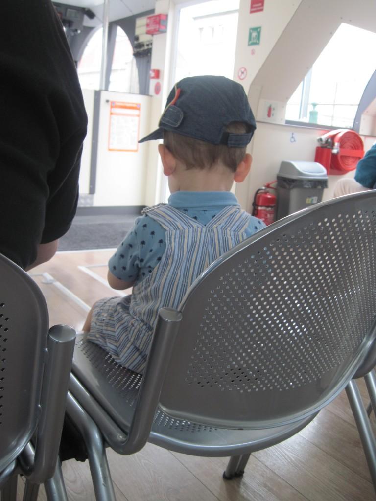 enfant à bord du Majestin
