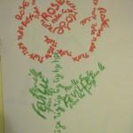 rose calligramme poésies