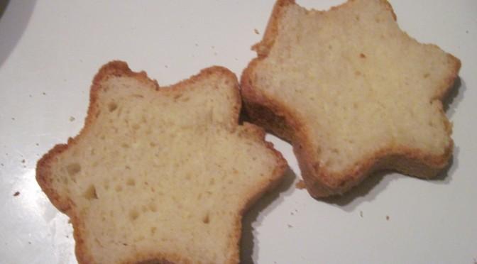 pain de mie étoile