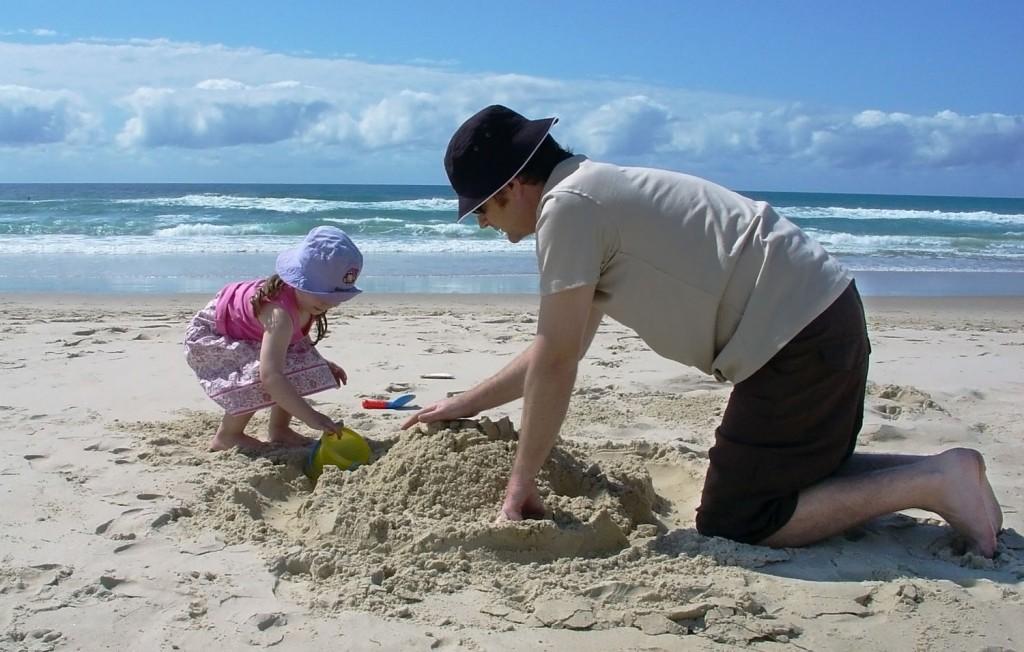 jouer avec un enfant