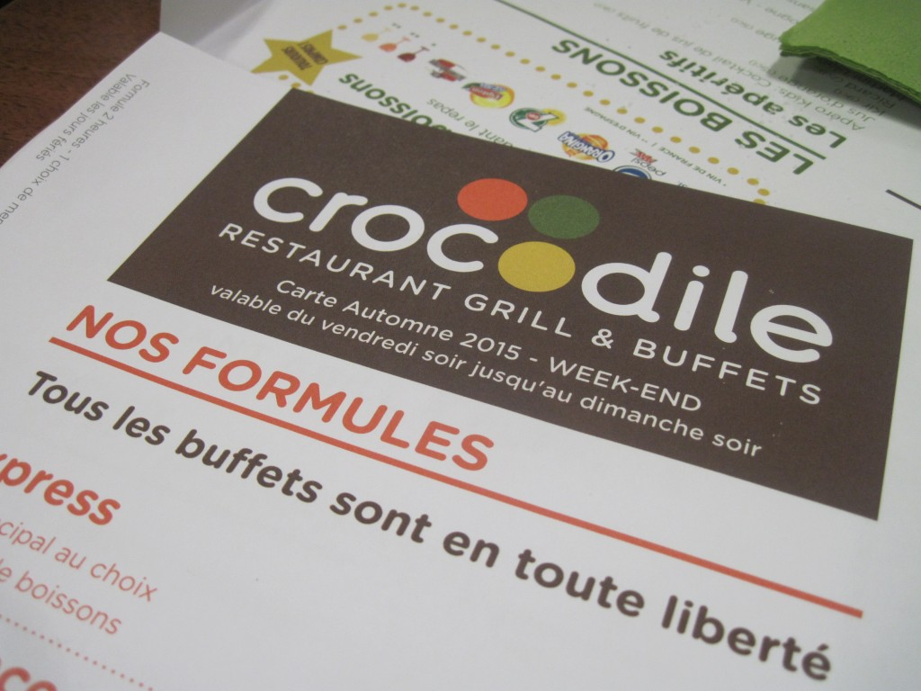 logo restaurant crocodile
