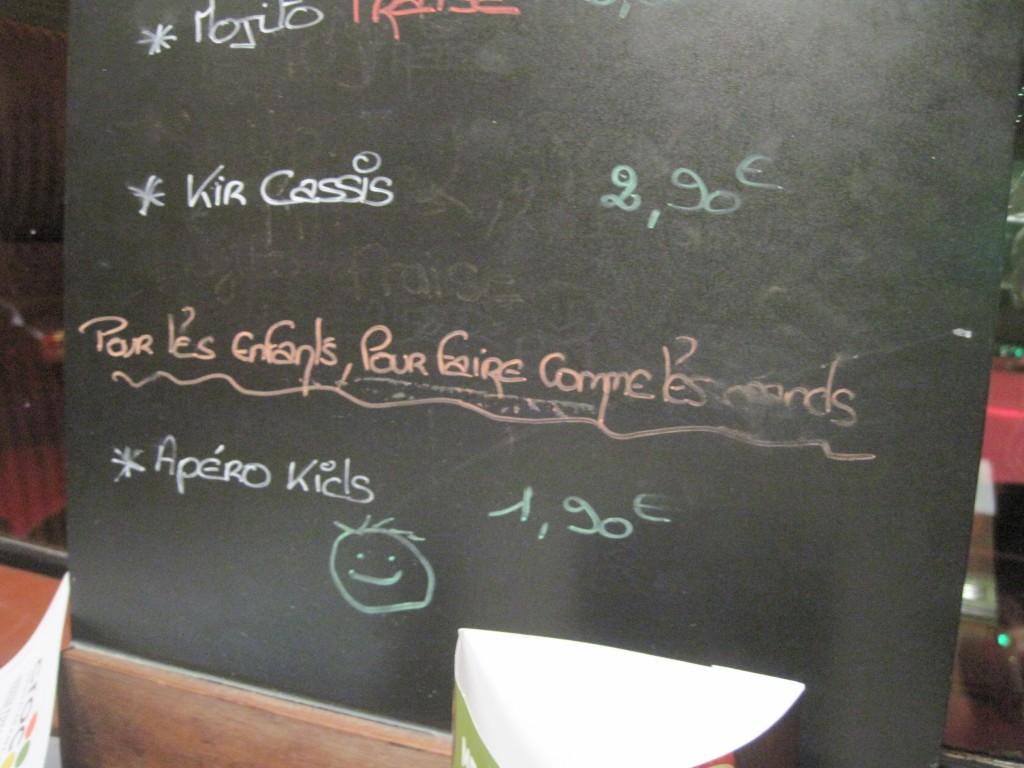 apéro kids restaurant crocodile