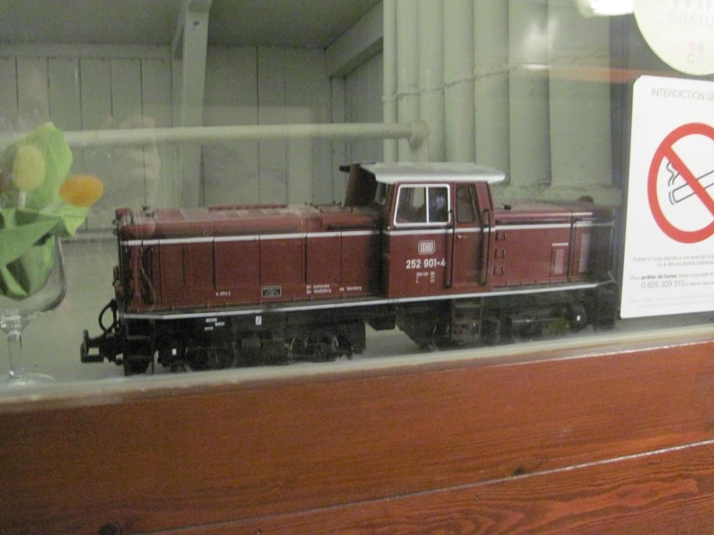 décoration train